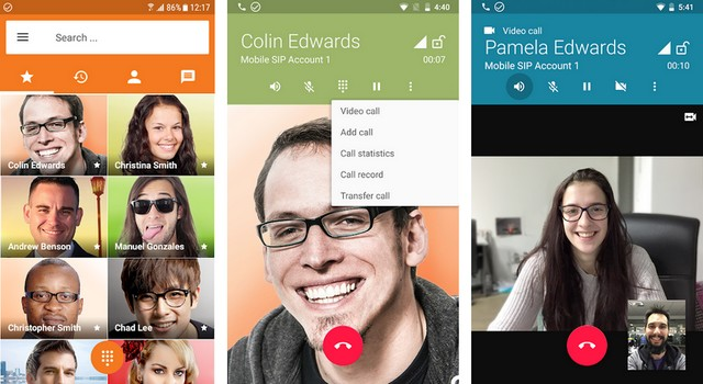 أفضل تطبيق VoIP و SIP للاندرويد