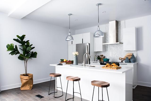 Warchadz decoration cuisine et salon moderne