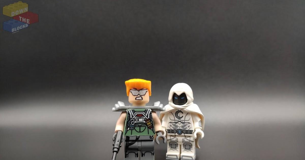 Custom Designed Minifigure Superhero Madame Masque Printed On LEGO Parts