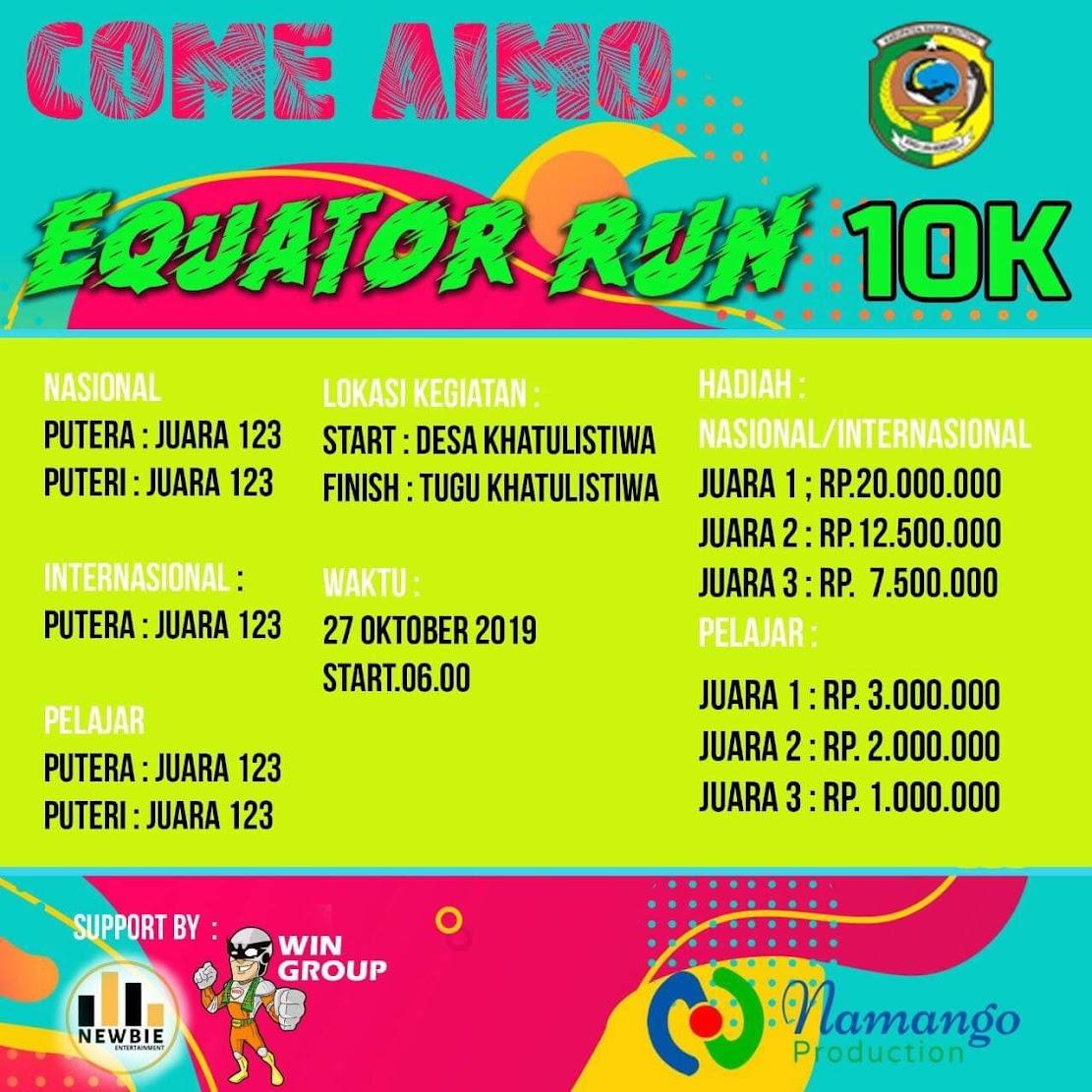 Equator Run • 2019