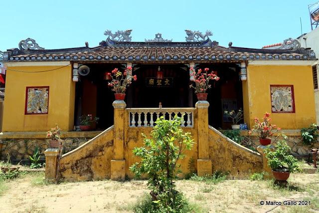 Templo Văn Thánh miếu Cẩm Phô HOI AN, VIETNAM