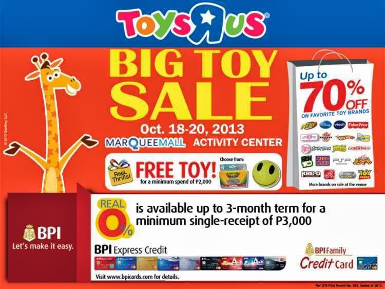 Manila Shopper Toys R Us Big Toy Sale At Marquee Mall