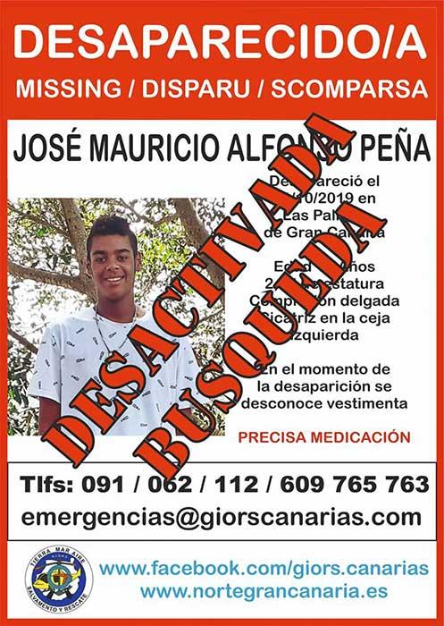 Localizan  en buen estado menor desaparecido en Las Palmas de Gran Canaria