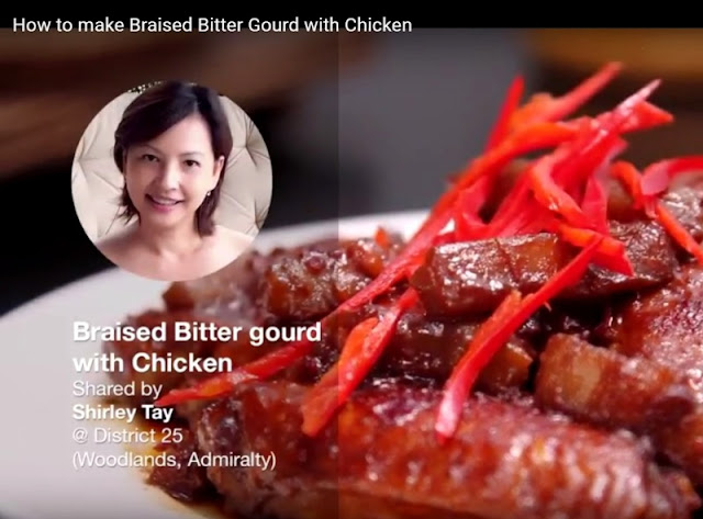 share food features luxury haven bittergourd chicken recipes