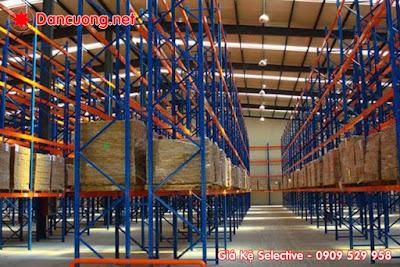 Kết cấu vững chắc và lưu trữ hàng mật độ lớn