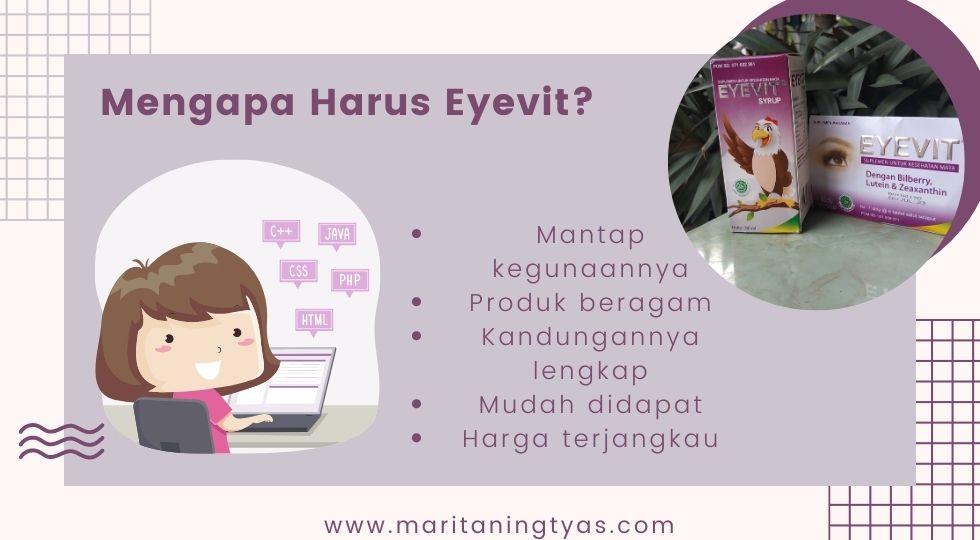 mengapa harus eyevit untuk vitamin mata keluarga