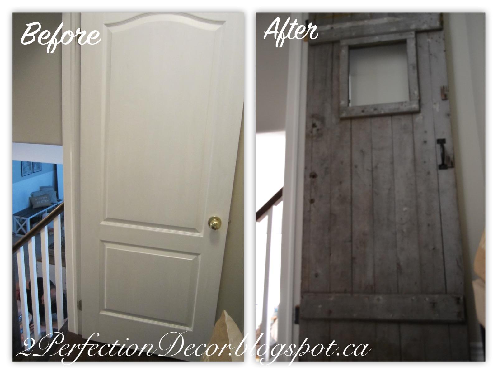 2perfection Decor Added Another Antique Barn Door