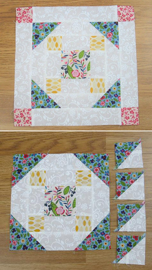 Grandma's Choice Quilt Block - Free Pattern