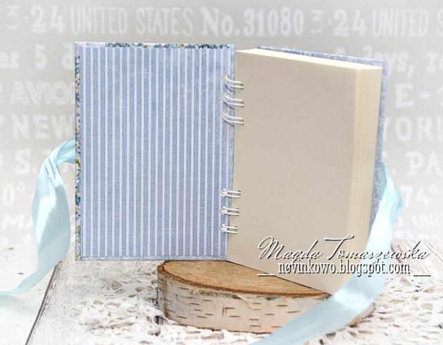 romantic notebook handmade