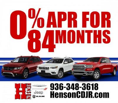 Henson Brand Dealership Ad