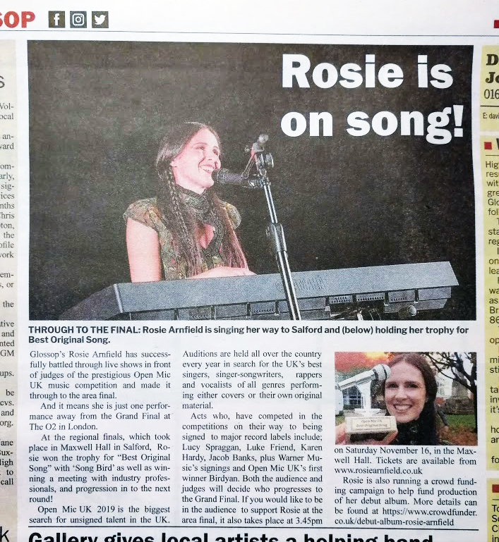 Glossop Woman On Song