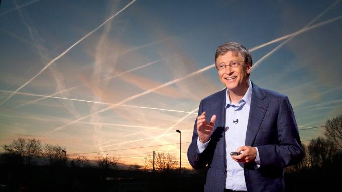 Mais geoengenharia global promovido por Bill Gates para genocídio em massa