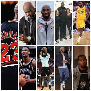 NBA players rich list