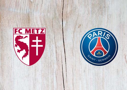 Metz vs PSG -Highlights 24 April 2021