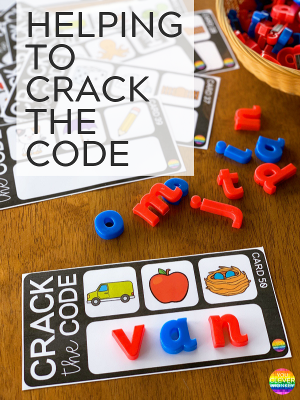 CRACK THE CODE CARDS | YOU CLEVER MONKEY