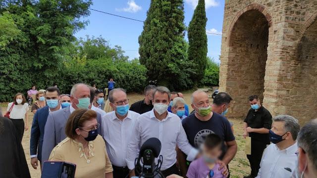 Η επίσκεψη Μητσοτάκη στην Περιφέρεια Πελοποννήσου
