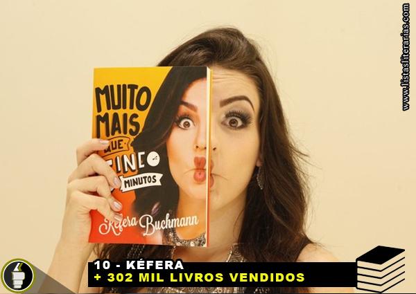 MV 99 - 10 Escritores brasileiros que mais venderam livros nesta década