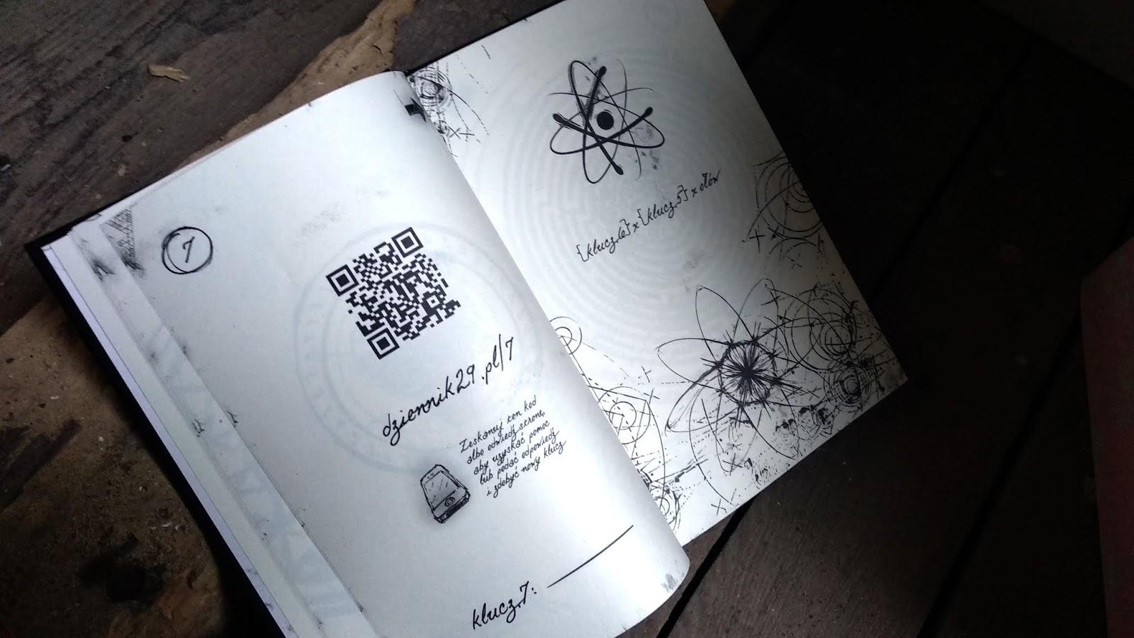dziennik 29, interaktywna gra książkowa, fox games, gry planszowe