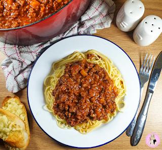 Best Spaghetti Bolognese recipe slimming world