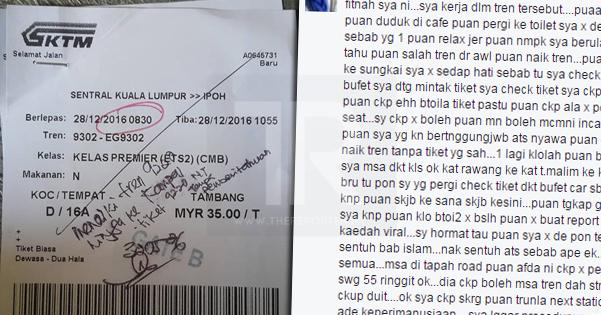 Kakitangan KTM Nafi Halau Penumpang Seperti Pengemis. Rupanya Ini Cerita Sebenar...
