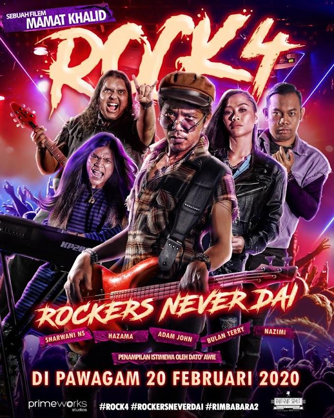 Review Filem Rock 4: Rockers Never Dai