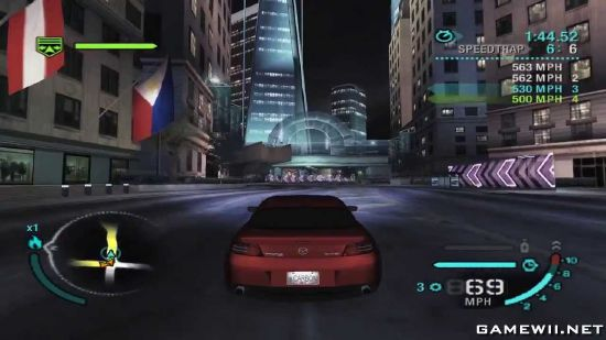 need for speed carbon wii