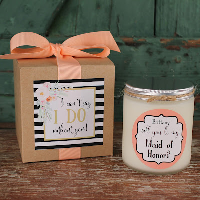 http://www.thefavordesignstudio.com/bridesmaid-candles/