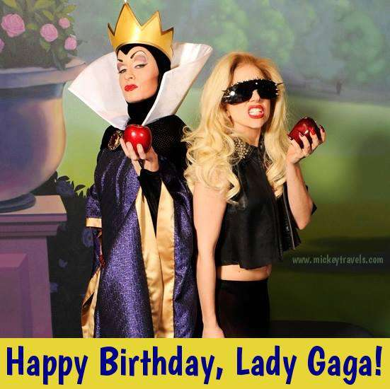 Lady Gaga's Birthday Wishes Images download