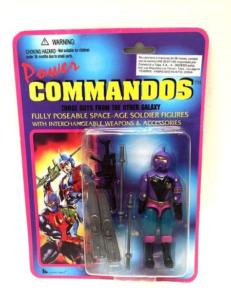 Lucky Bell, Power Commandos, Mummy Mask, Submarine, Metal Hawk, X Ray Eye, Condor Strike, Red Raven, Lynx Eye Jack, Laser Cut, Communicator, Nite Serpent, Sniper, Sound Speed, MOC