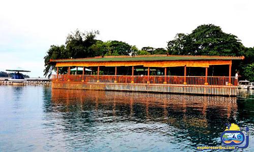 restaurant terapung di pulau putri
