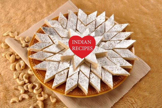 How to make Cashew Katli - Kaju Katli Recipe