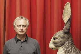 Dawkins and a rabbit