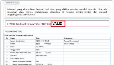 Cara Cek Info GTK di SIM PKB untuk Validasi SKTP 2018