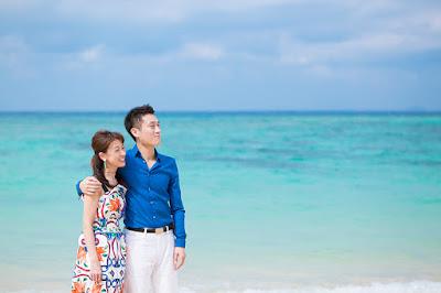 沖縄旅行 カップルフォト