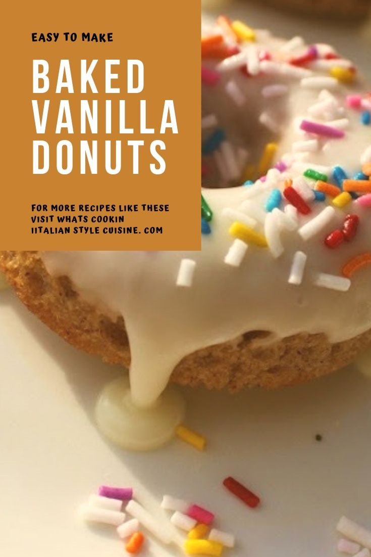 this is a pin for later photo of vanilla glazed donuts