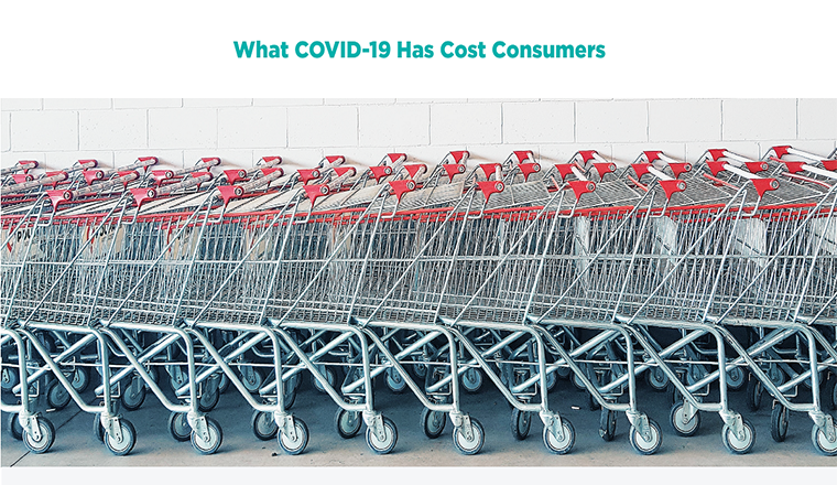 Covid-19: the Impact on Consumers' Wallets #infographic