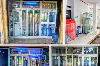 Biaya Pasang Depot Air Minum Lampung