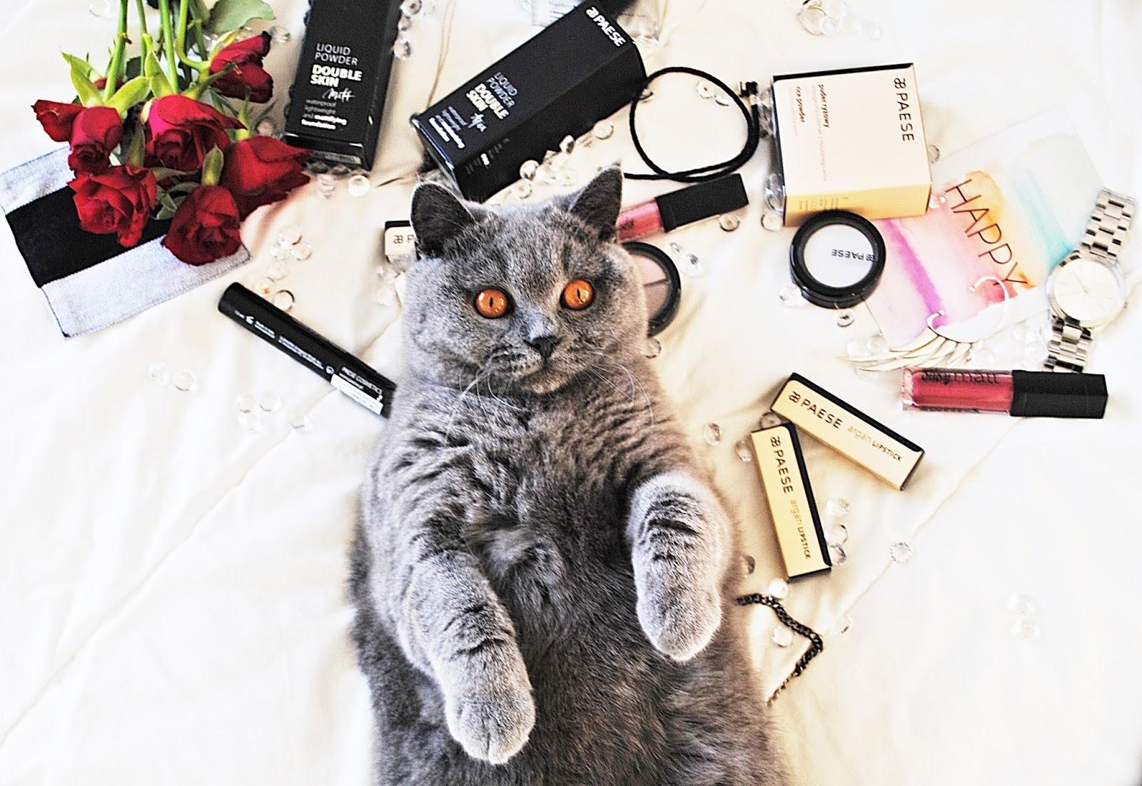 kosmetyki paese kot kwiaty
