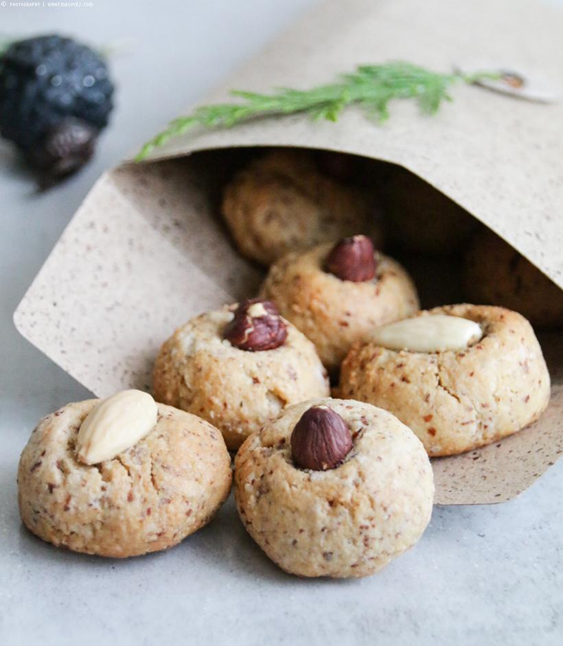 köstliche Marzipankekse mit Mandeln | whatinaloves.com