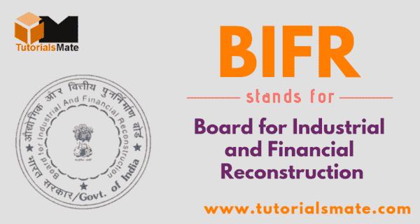 BIFR Full Form
