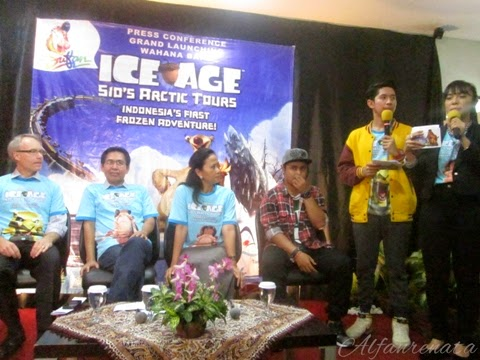 Konferensi Pers Ice Age