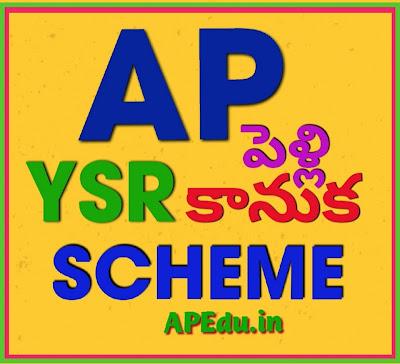 AP YSR Pelli Kanuka Scheme 2020: Application Status & Apply Online ysrpk.ap.gov.in