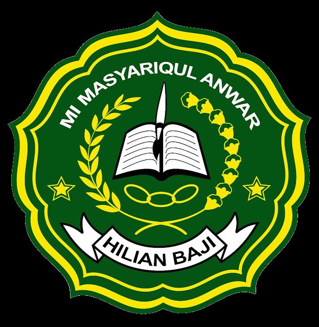 Logo Sekolah MI Masyariqul Anwar Hilian Baji