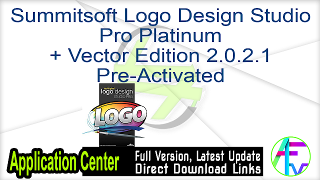 Summitsoft Logo Design Studio Pro Platinum + Vector Edition 2.0.2.1 Pre-Activated