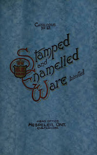 Hespeler Stamped and Enamelled Ware Catalogue
