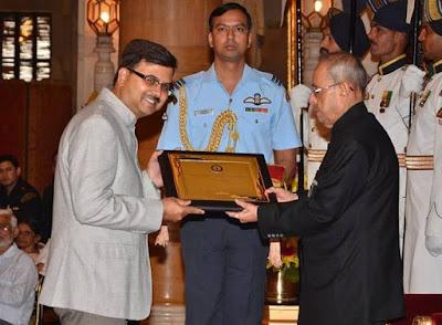 Atmaram Award Winner Balendu Sharma Dadhich