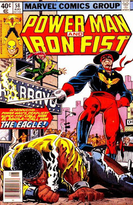Power Man and Iron Fist #58, the Eagle