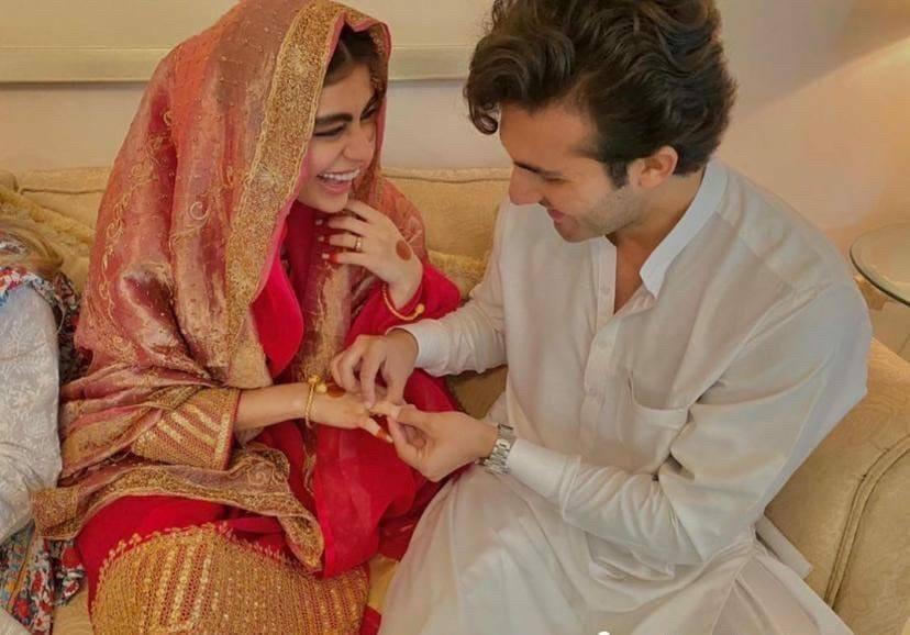 Sadaf Kanwal Shahroz Sabzwari Wedding