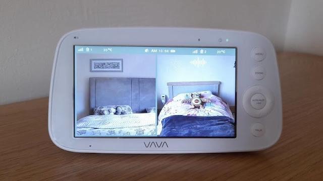 VAVA Split Screen Baby Monitor Review