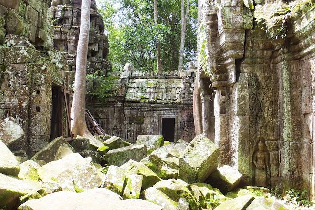 historic-ruin カンボジアの遺跡